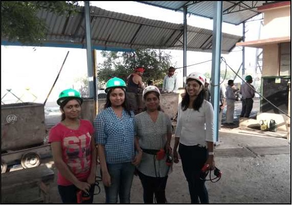 The women force on ground zero. Exploring the manganese ore extraction process from underground mine at Kandri near Ramtek, Nagpur.