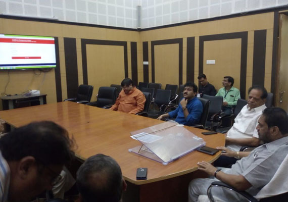 Lockdown Management - Grievance Redressal System for District Collector Office, Nagpur.