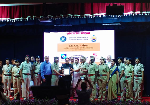 Life time achievement – Representative of Embedded Creation, Felicitated with S.E.V.A. System Implementation team, Pune Police By Hon. Governor of Maharashtra Shri Vidyasagar Rao.
