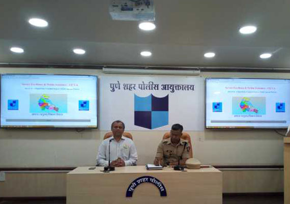 Training program for all police officers of Pune City, under guidance from DCP Shri. Bachchan Singh